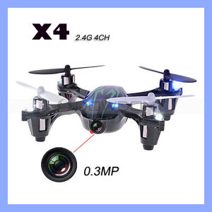 0.3MP Camera Drone X4 Quadcopter RC Vs Hubsan X4 H107c 4CH 2.4G Remote Control Toys RC Helicopter pictures & photos