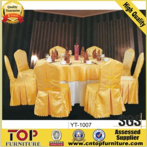 Wedding Banquet Polyester Spandex Chair Cover pictures & photos