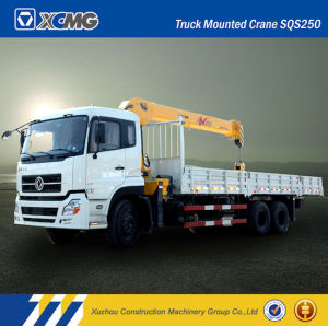 XCMG Sqs250 25ton Straight Arm Truck Mounted Crane pictures & photos