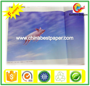 White 100GSM Art Coated Paper pictures & photos