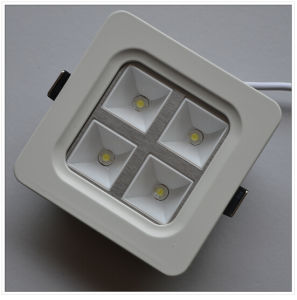 4W CE Square (round angle) Warm White LED Ceiling Light