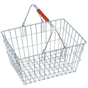 Metal Wire Shopping Basket for Grocery pictures & photos