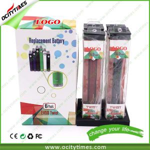 New Model Electronic Cigaretet Blister Pack Evod Twist Battery pictures & photos