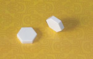 92% Alumina Ceramic Hex Tablets pictures & photos