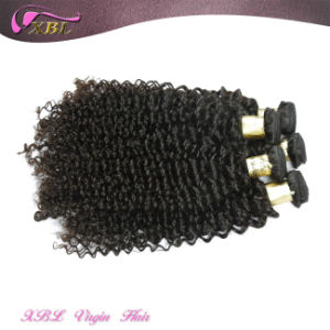 Natural Color Virgin Peruvian Hair Extension Kinky Curly pictures & photos