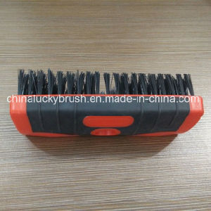 Double Colour Square Plastic Board Brush with Plastic Wire (YY-501) pictures & photos