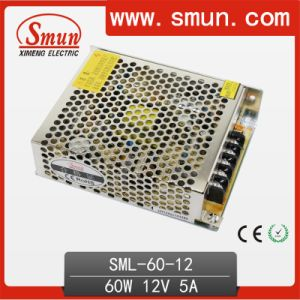 60W 12V Switching Power Supply (SMPS) for LED Strip Lighting pictures & photos