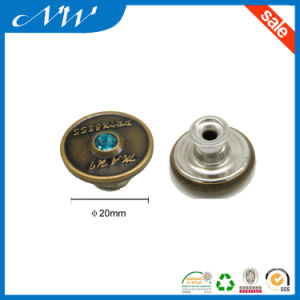 Hot Sale Fashion Metal Buttons Shank Button for Jeans pictures & photos