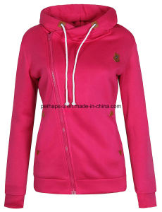 High Quality Women Long Sleeve Casual Hoodies Ladies Wear pictures & photos
