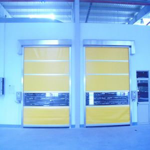 Automatic PVC Industrial High Speed Shutter Door (HF-2022) pictures & photos