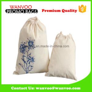 Reusable Rice Bag Jute Drawstring Bag pictures & photos