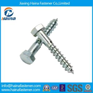 Carbon Steel DIN571 Hex Head Wood Screw Lag Screw pictures & photos