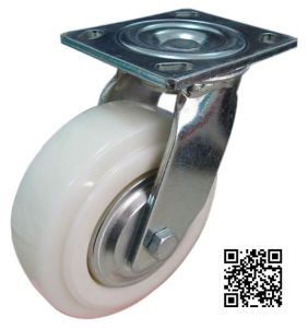 6mm Bracket Heavy Duty Rotating Nylon Caster pictures & photos