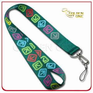 Promotion Gift Cheap Heat Transfer Printing Polyester Lanyard Strap pictures & photos