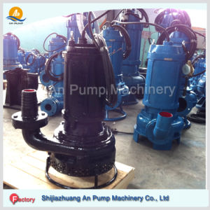 Float Switch Electric Motor High Efficiency Submersible Sand Slurry Pump pictures & photos
