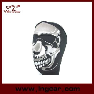 Hot Sell Black Motorcycle Mask Airsoft Mask Paintball Mask pictures & photos