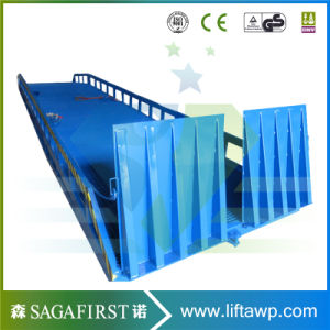 Hydraulic Mobile Yard Loading Dock Ramp pictures & photos
