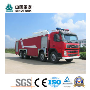 Top Quality Sinotruk HOWO Foam Fire Engine of 20m3 Truck