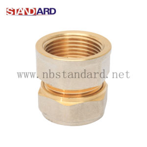 Brass Compression Fitting with Nickel Plated pictures & photos