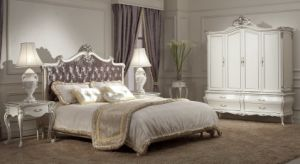 Classical Wooden Bedroom Furniture Bed (SM-A1001A-2) pictures & photos
