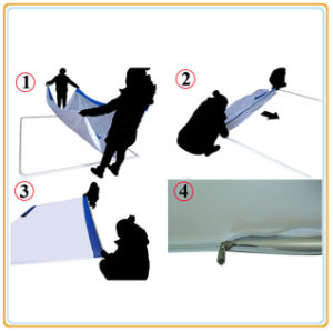 8ft Tension Fabric Display for Promotion Campaign pictures & photos