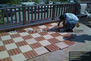 Interlocking Garden WPC Tiles pictures & photos