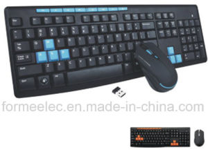2.4GHz Wireless Keyboard Mouse Combo Computer Notebook Keyboard pictures & photos