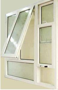 Glazed UPVC Window PVC Casement Tilt and Turn Glass Window