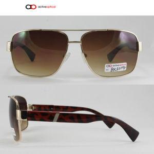 Fashion Metal Sunglasses with UV400 (bk60114)