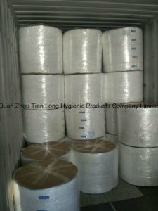 Topsheet Nonwoven for Diaper Raw Material Nonwoven Fabric Manufacture pictures & photos