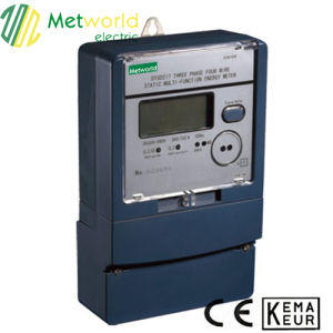 Three Phase Static Multifunction Energy Meter pictures & photos