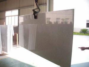 Red Mirror Artificial Quartz Slab for Tile Countertop pictures & photos