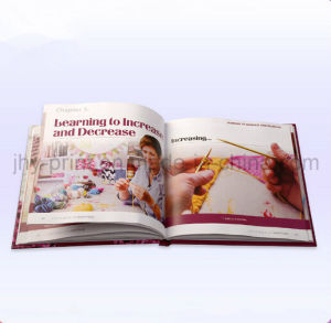 Hardcover Full Color knitting Tool Book Printing Service (jhy-364) pictures & photos