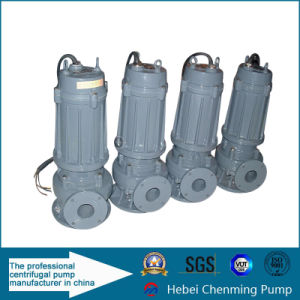 2016 Sewage High Pressure Electric Sewage Pump Supplier pictures & photos