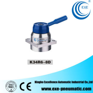 Exe K34r6 Series Solenoid Valve Manual Rotation Valve K34r6-08d pictures & photos