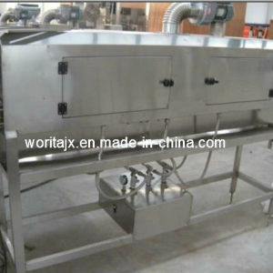 Semi-Auto Steam Shrinking Tunnel for Bottle Label pictures & photos