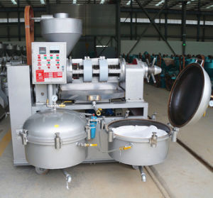 Guangxin Automatic Oil Press Yzlxq10 Peanut Oil Making Machine pictures & photos