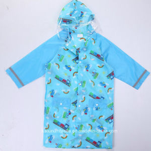 Wholesale New Design Cheap Boys Raincoat