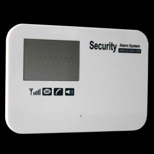 Cell Phone Remote Control Wirelsee GSM Alarm System Panel pictures & photos