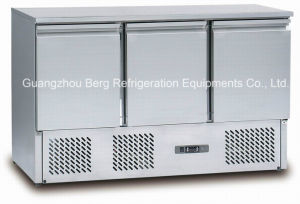Stainless Steel Salad Display Counter Refrigerator pictures & photos