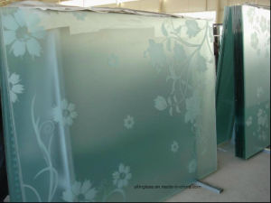 6mm 8mm 10mm 12mm Toughened Frosted Bathroom Glass pictures & photos