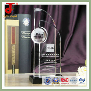 Clear Glass Awards 3D Crystal Puzzle for Souvenir Gifts pictures & photos