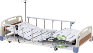 My-R004 ABS Three-Function Electric Super Low Medical Care Bed pictures & photos