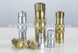 Hydraulic High Pressure Flat Face Release Quick Coupler pictures & photos