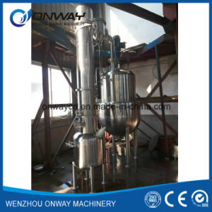 Qn High Efficient Factory Price Stainless Steel Milk Tomato Ketchup Apple Juice Concentrate Sphere Vacum Evaporator pictures & photos