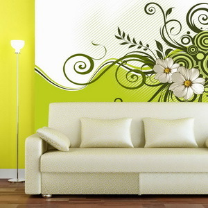 Factory Sell Inkjet Printing Non-Woven Fabric DIY Wallpaper pictures & photos