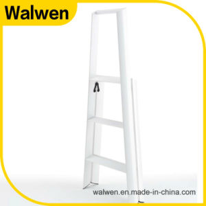 2 Step Plastic -Sprayed Foldable Attic Ladder pictures & photos
