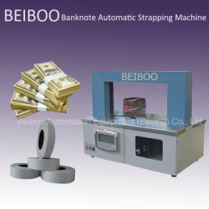 Automatic Banknote Money Strapping&Banding Machine (RS02-30) pictures & photos