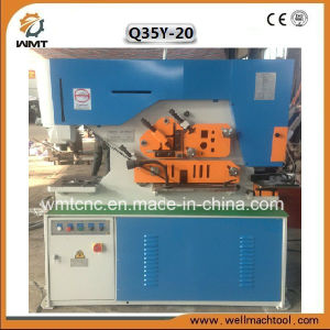 Hydraulic Combined Punching Shearing Bending Cutting Notching Machine pictures & photos