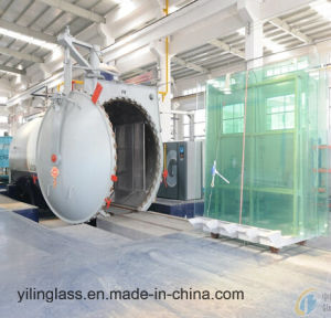 Big Size Tempered Laminated Glass with Color Pattern pictures & photos